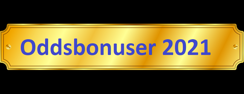 Alle oddsbonuser 2021 fra norske bookmakere