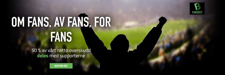 Fansbet – Nytt spilleselskap på nett